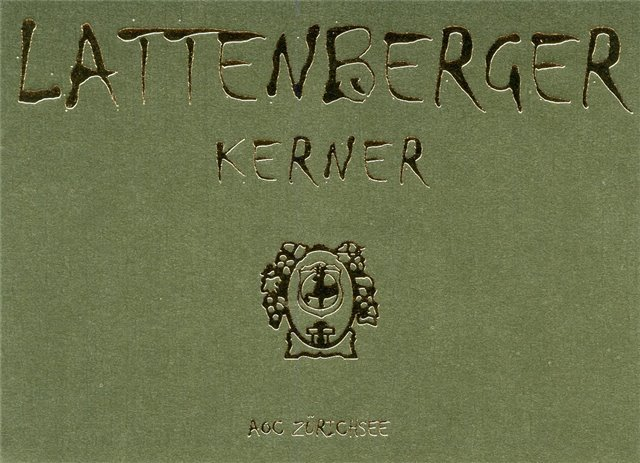 Lattenberger Kerner 75cl
