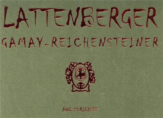 Lattenberger Gamay x Reichenstein 75cl