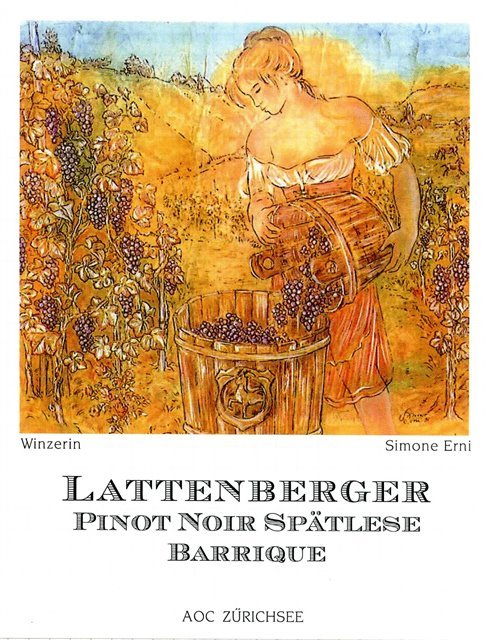 Lattenberger Pinot Noir Spätlese Barrique 75cl