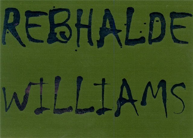 Rebhalde Williams 43% 75cl